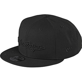 Troy Lee Designs Signature Snapback Cap schwarz
